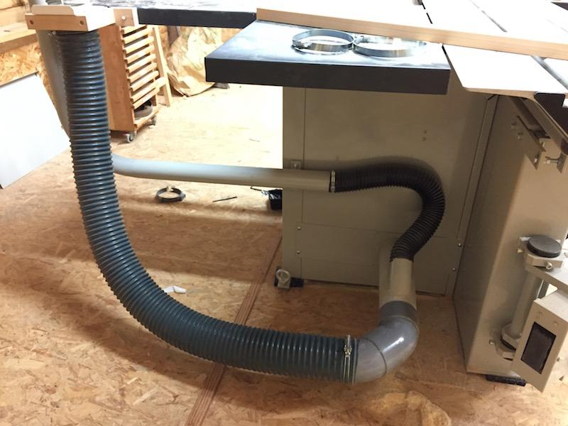mise en place de l'extraction des machines Img_5062