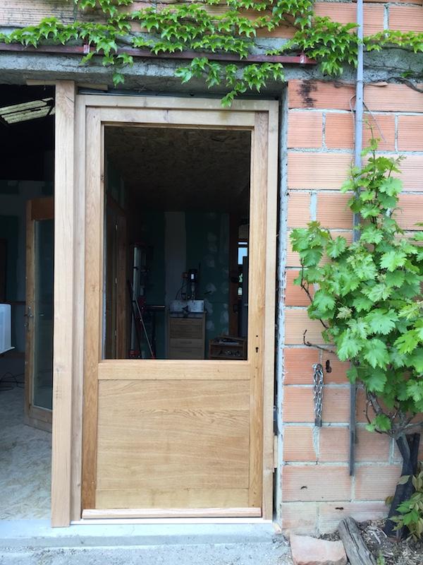 Extension de mon atelier. Les portes de la façade - Page 16 Img_5810