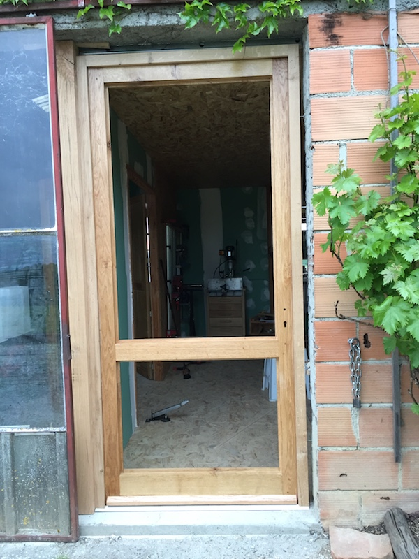 Extension de mon atelier. Les portes de la façade - Page 16 Img_5813