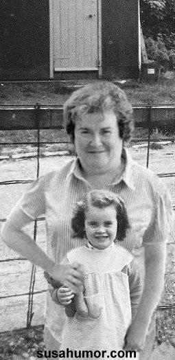 Susan with Susan - 40 years apart! Susulo10