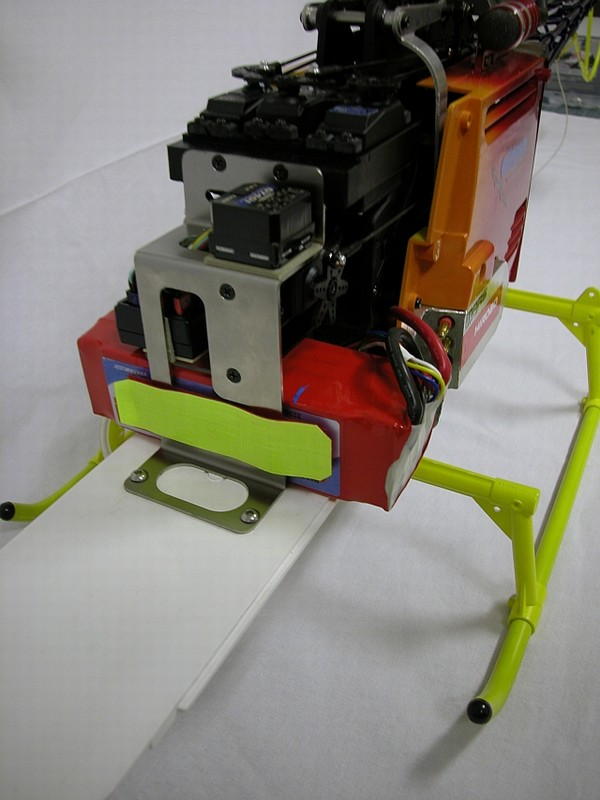 LAMA - Alouette II EDF - Lama Hirobo Lama-u10