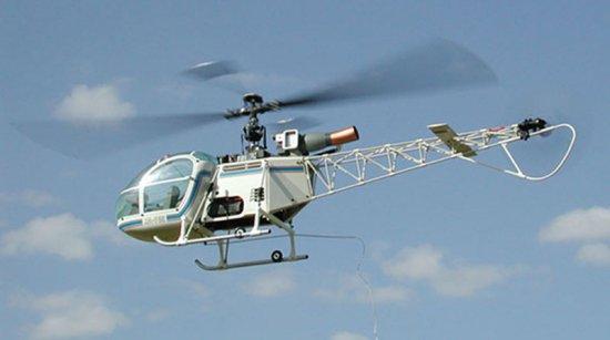 LAMA - Alouette II EDF - Lama Hirobo Lama11