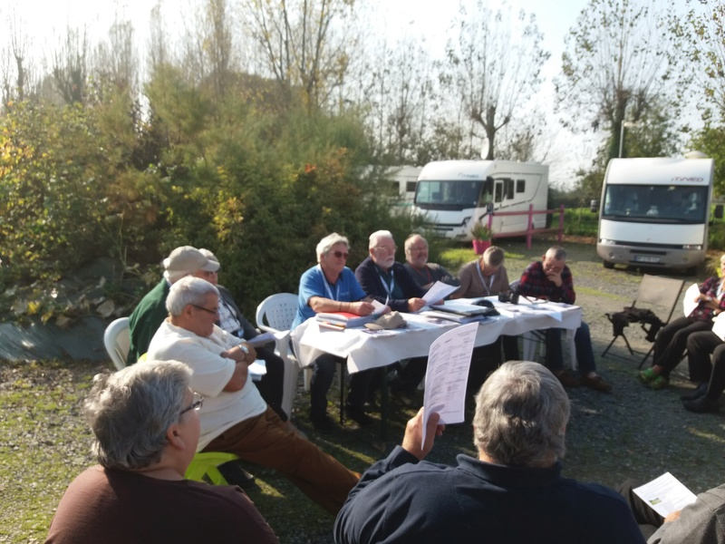 Assemblée Générale de Itinéo, le Club à Saint-Vigor-le-Grand près de Bayeux 20171013