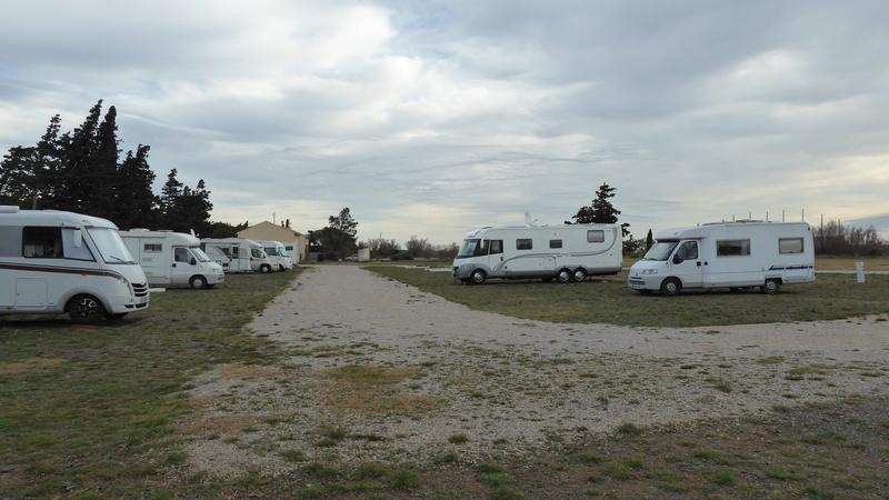 La Palme - Aire de stationnement et services (Camping-Car Park) P1020624