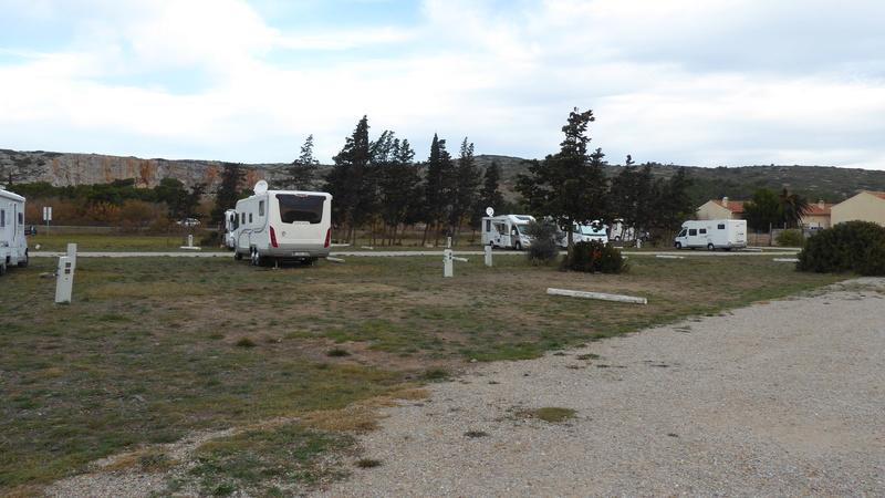 La Palme - Aire de stationnement et services (Camping-Car Park) P1020626