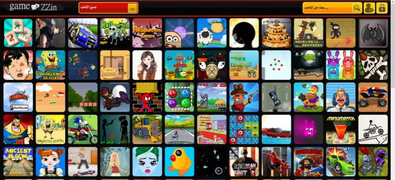 موقع العاب زين gamezzin العاب فلاش متخصص العاب اونلاين وغيرة Gamezz10