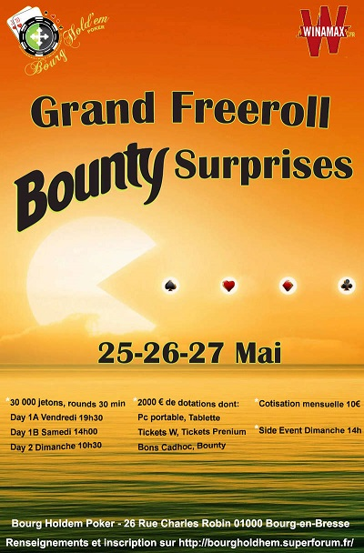 Freeroll Bourg hold em Bounty + surprises (25/26/27 mai) Images12