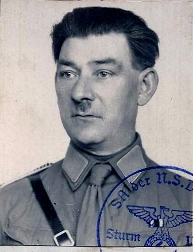 Lot indochina, US WW2, Gebirgsjäger, Uniforme complet S.A. Oberrhein....avec sa dague ! 000010