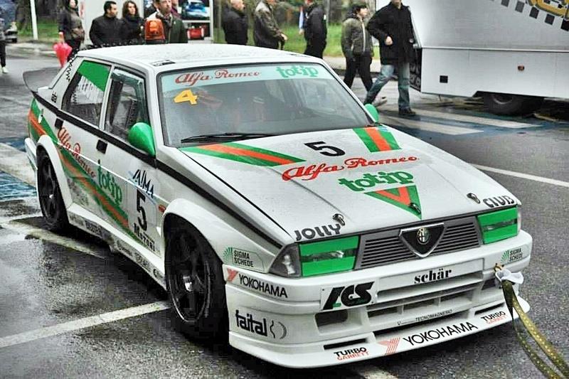 Alfa Romeo 75 Replica Nicola Larini ToTip  Ea99f810
