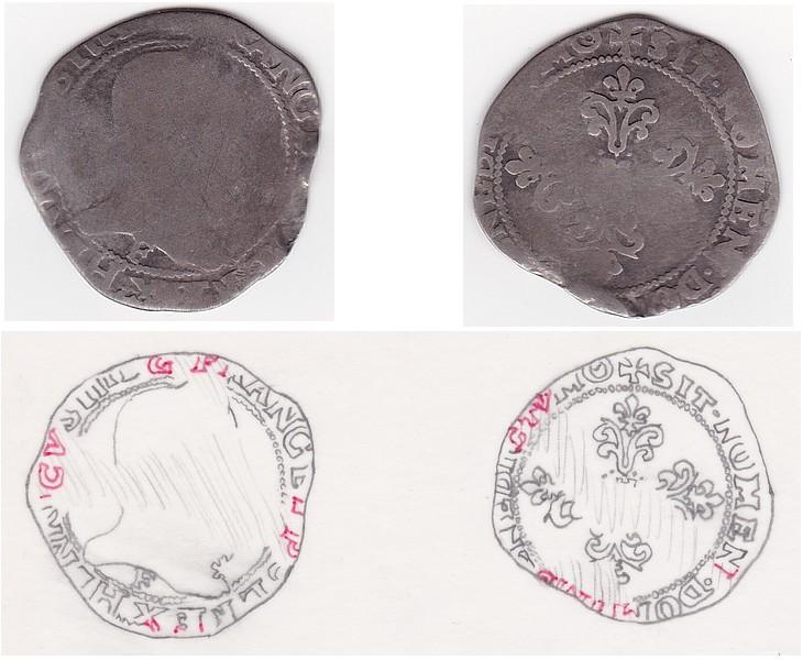 Quart de Franc sans date Quartf10