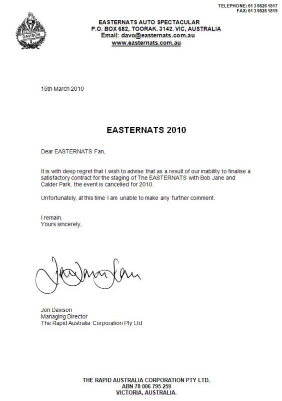 EASTER NATS - CALDER PARK - CANCELLED 34pca511