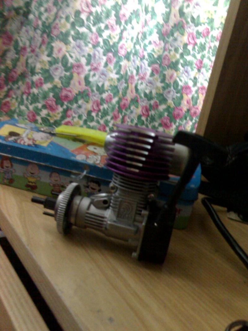 Cerco Motore a scoppio per Automodello Kyosho Alpha 3 - 1/10 27-04-10