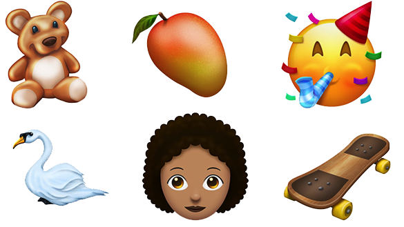 Con iOS 12 arriveranno nuove Emoji: cigno, peluche, supereroi ecc... Dafsdf10