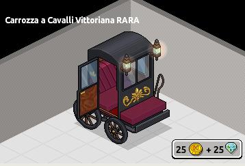 [ALL] Carrozza a Cavalli Vittoriana Rara in Catalogo su Habbo! Scherm17