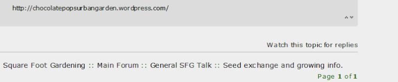 How do you read/use the sfg forum? Follow10