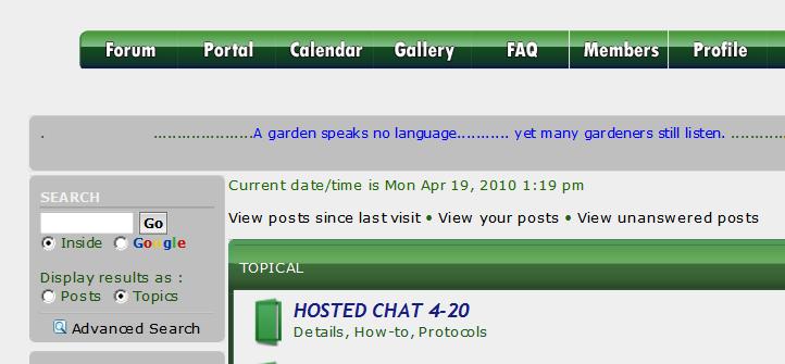 How do you read/use the sfg forum? Sincel10