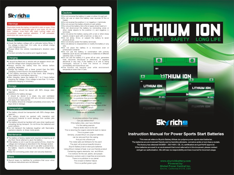 BATTERIES Lithium Ion Polymer : LiPo Lithiu10