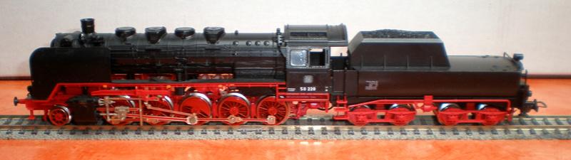 DB Lok 50 220 mit Wannentender Spur HO 50_22010