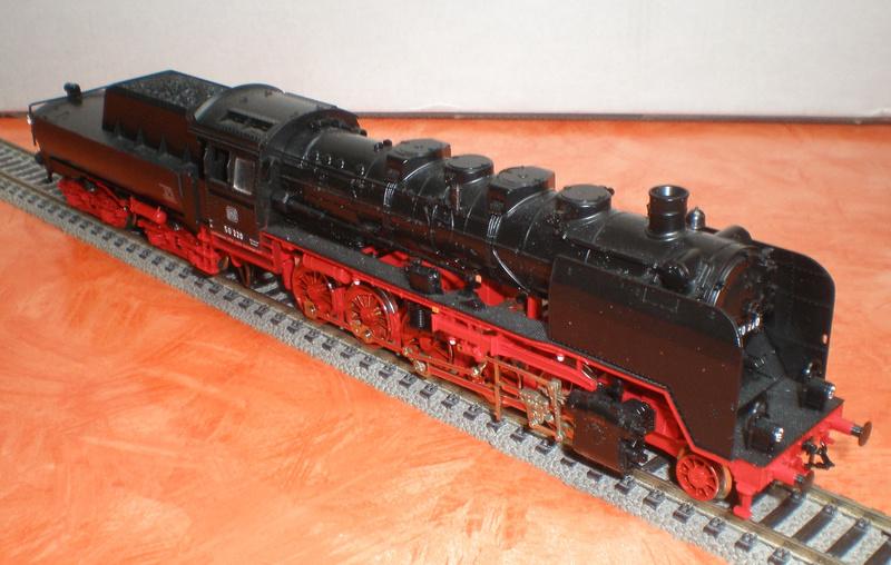 DB Lok 50 220 mit Wannentender Spur HO 50_22014