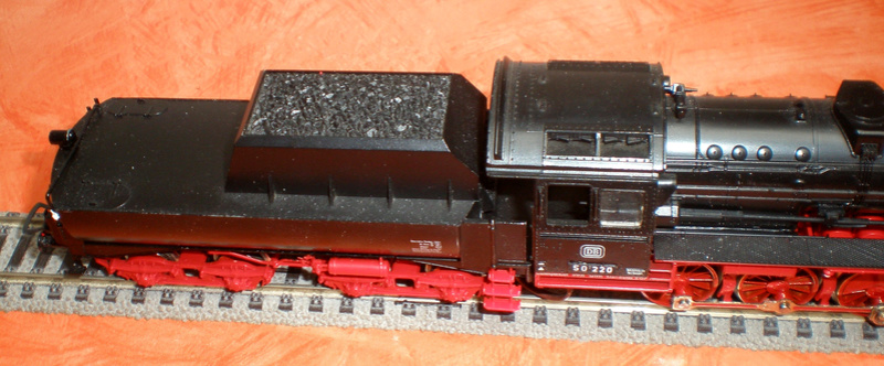DB Lok 50 220 mit Wannentender Spur HO 50_22015