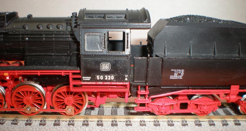 DB Lok 50 220 mit Wannentender Spur HO 50_22016