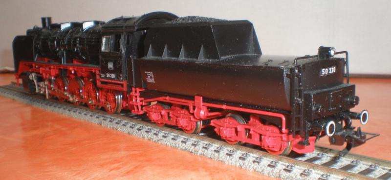 DB Lok 50 220 mit Wannentender Spur HO 50_22019