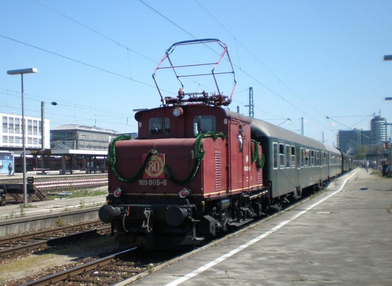 Rund um München mit der BR 70 083 Aa10