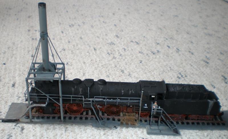 Heiz-Dampflok in Spur HO Aa110
