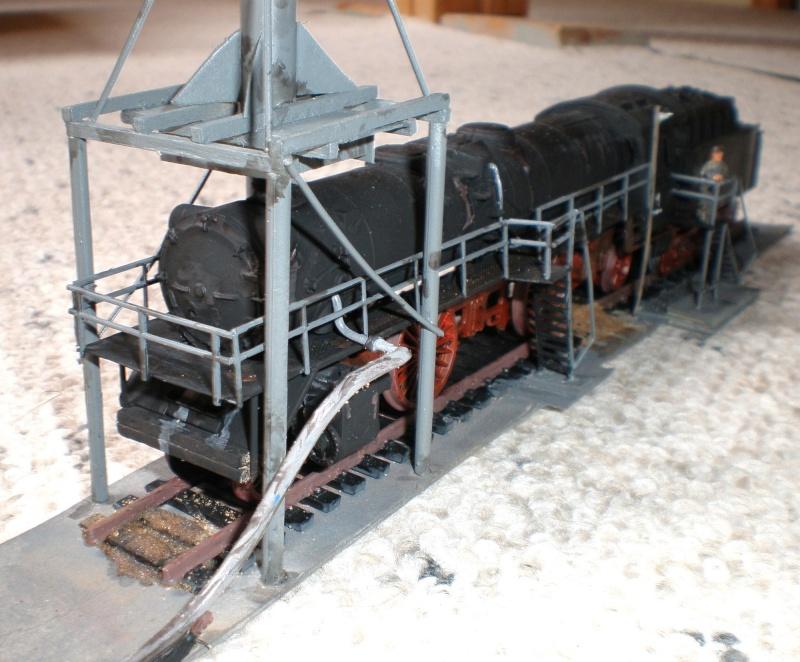 Heiz-Dampflok in Spur HO Aa410