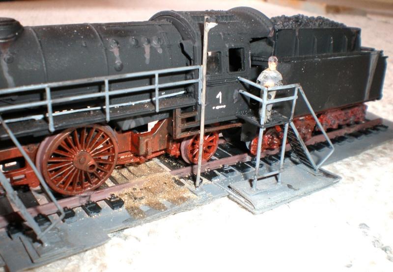 Heiz-Dampflok in Spur HO Aa810