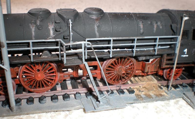 Heiz-Dampflok in Spur HO Aa910