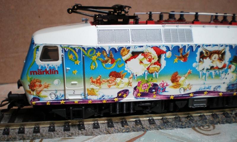 Weihnachtslok Aw411
