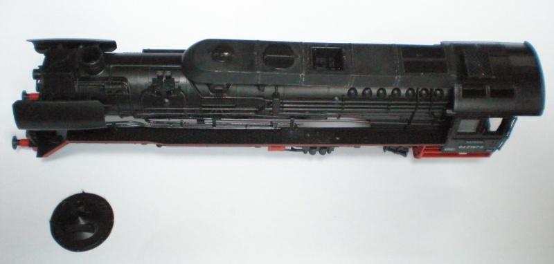 Schnellfahrlok 18 314 in Spur HO Dru610