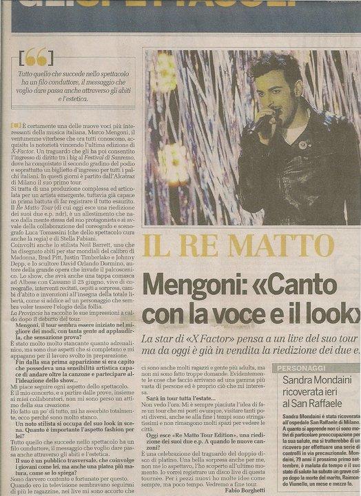 Re Matto Tour: notizie e recensioni - Pagina 2 Como10