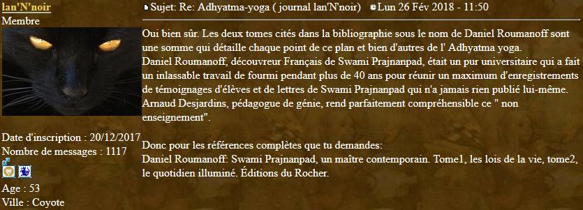 Marqueurs de l'Adhyatma Yoga 2018-021