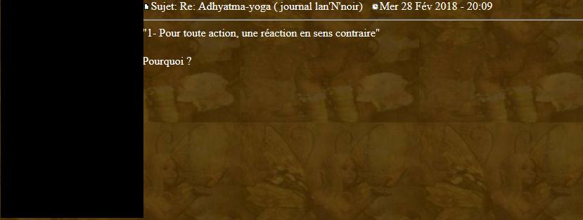 Marqueurs de l'Adhyatma Yoga 2018-032