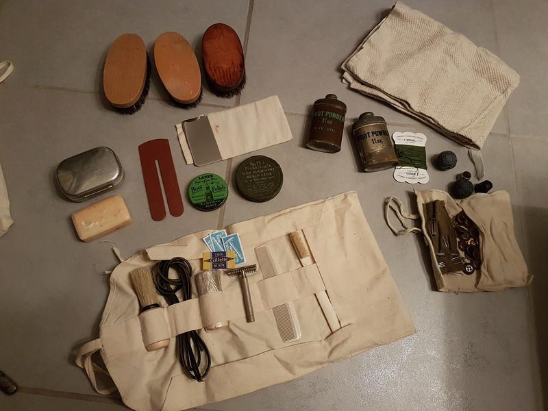Equipement personelles du soldat anglais 20180210
