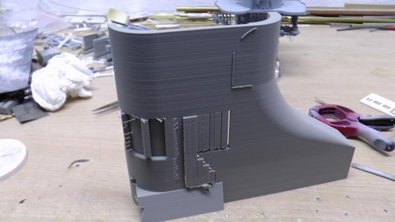 Bismarck 1:100 nur die Aufbauten  - Seite 18 S1290014