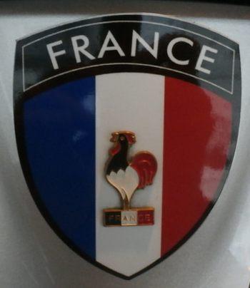 Réedition écusson métal de nationalité Française pour vos Goldwings - Page 2 Pa260020