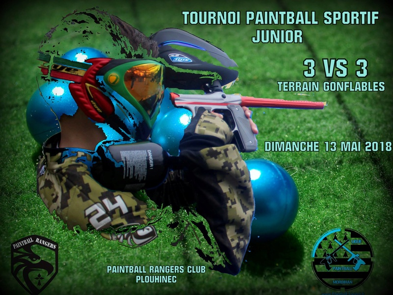 tournoi paintball junior : ligue paintball du Morbihan 2018 Tourno11