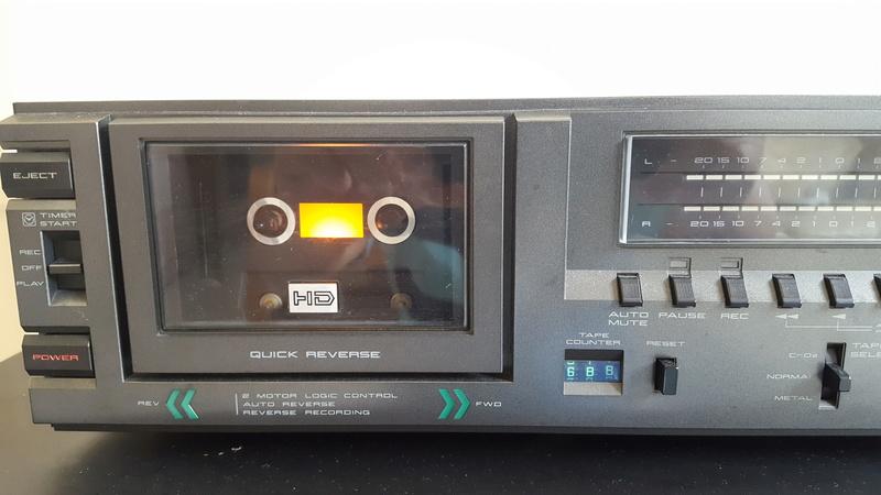 Akai Cassette player CS-F33R 20171118
