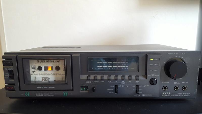 Akai Cassette player CS-F33R 20171119