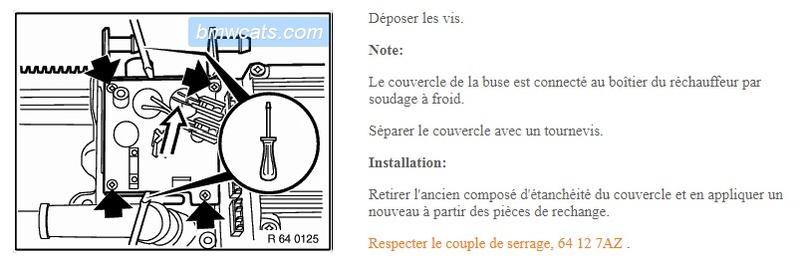 [ bmw e46 320d M47 an 1999 ] Régulateur de chaleur moteur qui fume Ytanch10