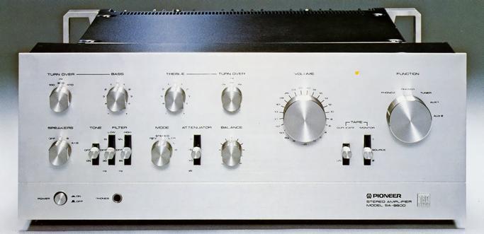 Amplificador Pioneer integrado SA 9500 mk ii Sa-98010