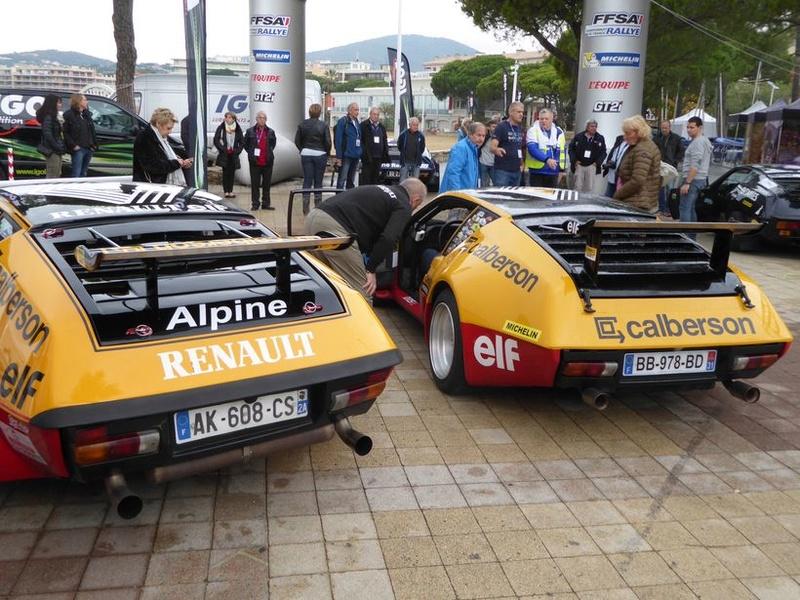 Au rallye du Var on a fêté les 40 ans de la victoire Alpine  P1050615