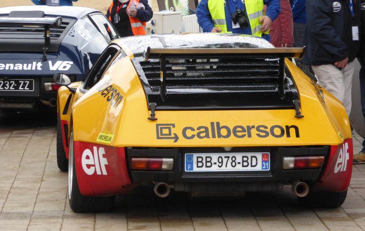 Au rallye du Var on a fêté les 40 ans de la victoire Alpine  P1050616