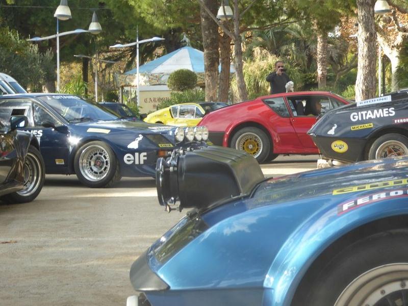 Au rallye du Var on a fêté les 40 ans de la victoire Alpine  P1050627
