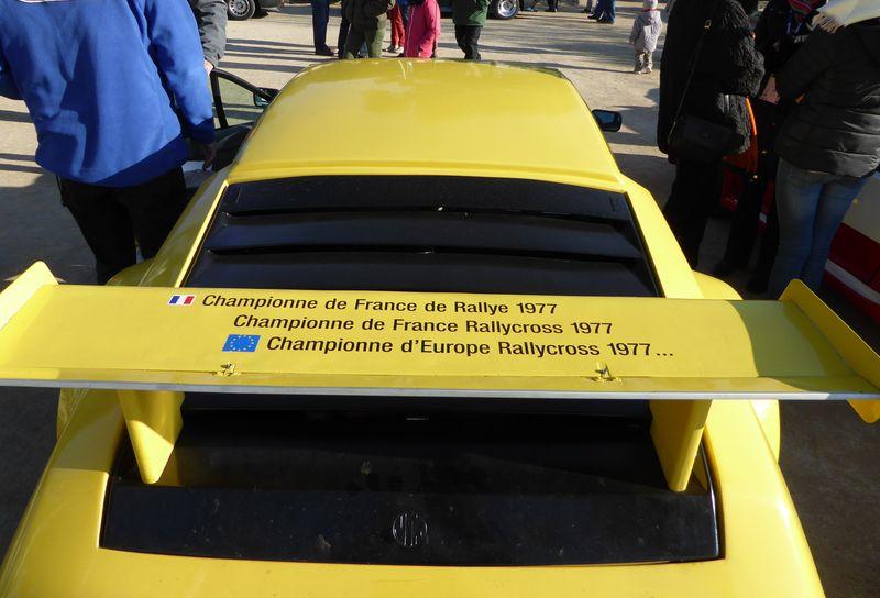 Au rallye du Var on a fêté les 40 ans de la victoire Alpine  P1050711