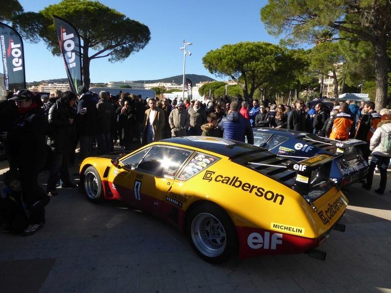 Au rallye du Var on a fêté les 40 ans de la victoire Alpine  P1050721