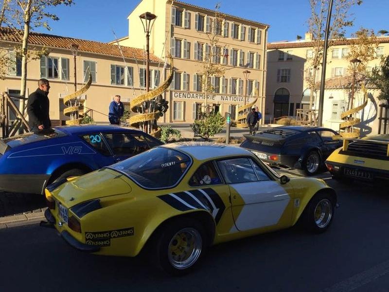 Au rallye du Var on a fêté les 40 ans de la victoire Alpine  St10